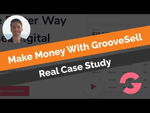 GrooveSell Case Study: How To Sell Your First Product With The FREE GrooveSell Shopping Cart