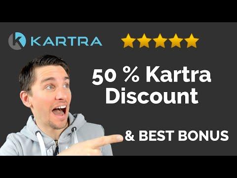 Best Kartra Bonus: How To Secure Your 50 % Kartra Discount