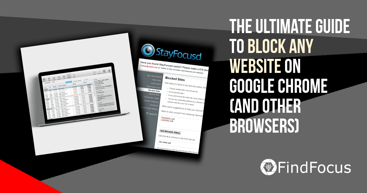 How to block a website in google chrome