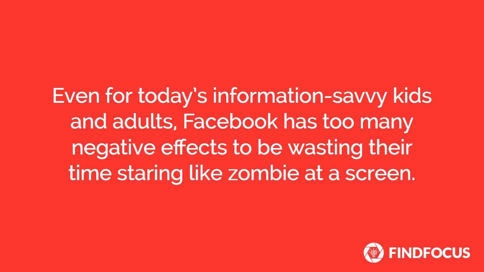 Facebook negative effects