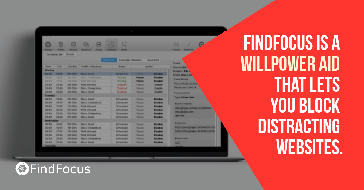 Click here to Try FindFocus for Free And Block Distacting Websites on Your Mac or Windows PC