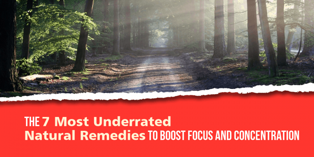 Natural remedies to boost focus and concentration