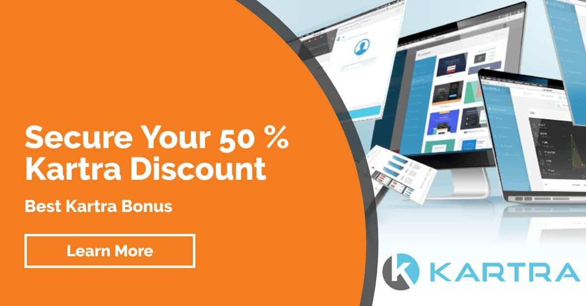 Kartra Discount and Bonus Offer