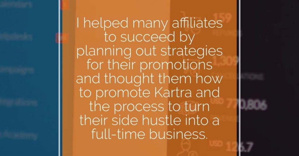 Promote Kartra Quote from the interview