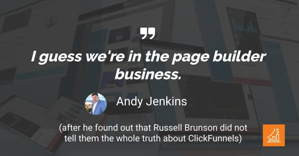 Andy Jenkins About Clickfunnels