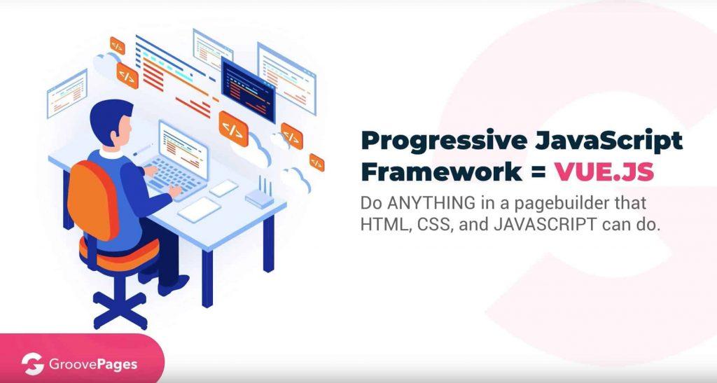 GrooveFunnels Software Development Framework VUE.JS