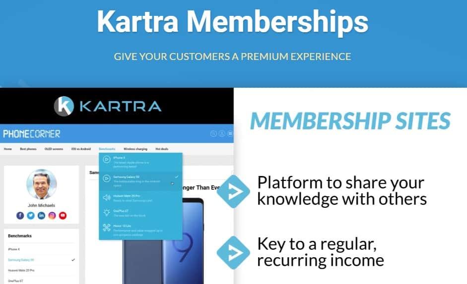 Review of Kartra's Membership Platform