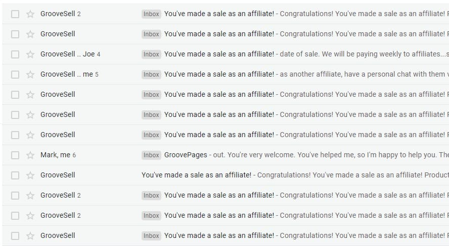 Sales Notifications From GrooveSell