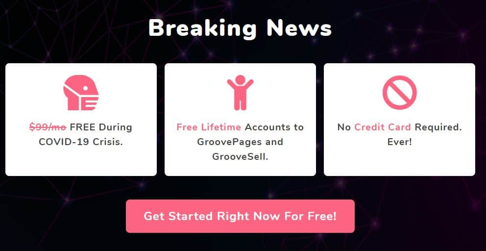 Free GroovePages Landing Page Builder