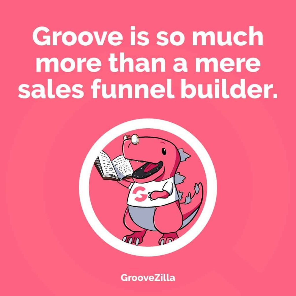 More than a sales funnel builder.