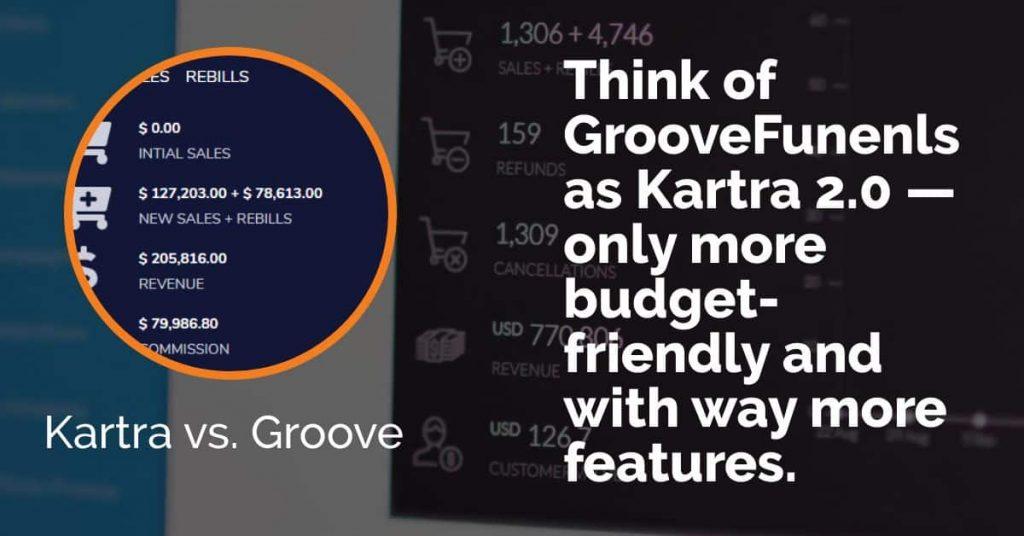 Kartra vs GrooveFunnels
